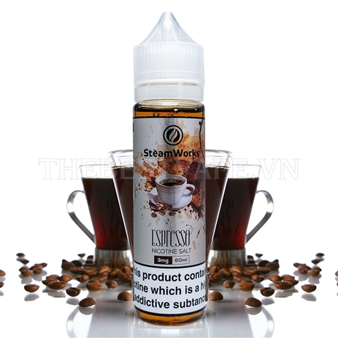 Steam Works - FB Espresso 3mg 60ml