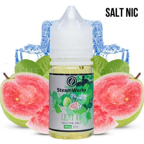 Steam Works - SN Guava Ice 30mg 30ml