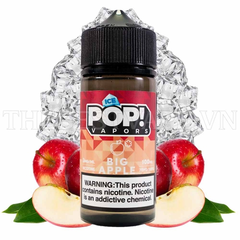 ICE POP BIG APPLE - Tinh dầu vape mỹ 100ml