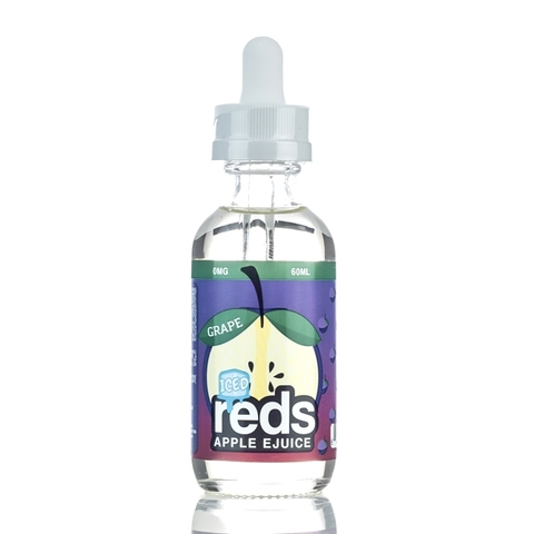 Tinh dầu vape mỹ GRAPE RED APPLE ICE 60ml