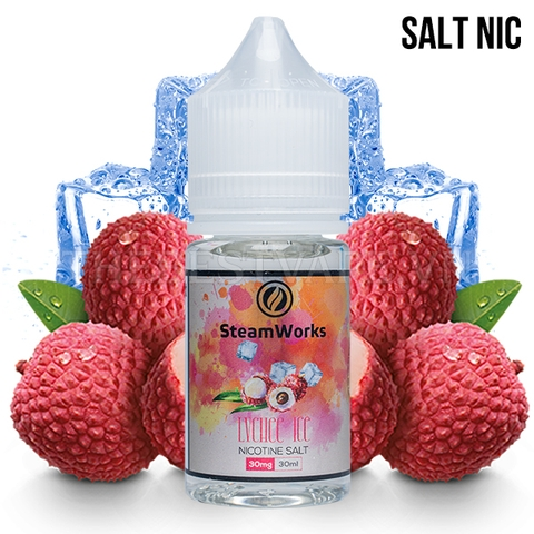Steam Works - SN Lychee Ice 30mg 30ml