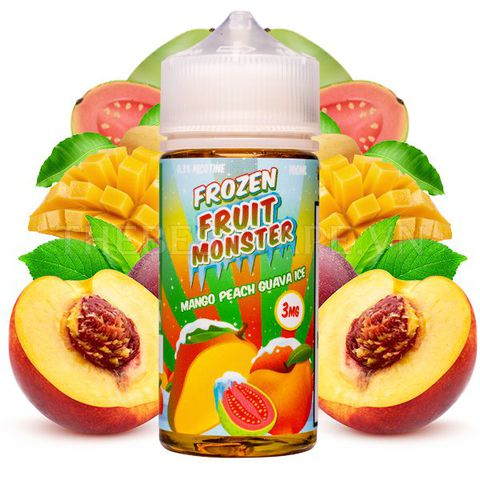 Frozen Fruit Monster - FB Mango Peach Guava 100ml