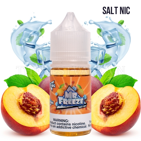Peach Frost 30ml - Mr Freeze Eliquids