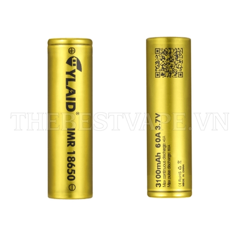 PIN 18650 3100MAH - 60A by Cylaid