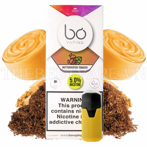 Pod Butterscotch tobaco Saltnicotine