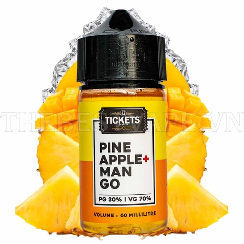 Tickets - FB Pineapple Mango 60ml