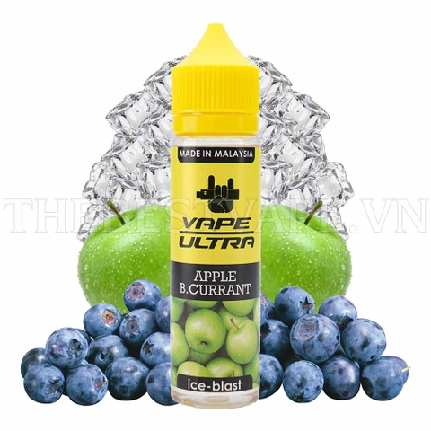 Tinh dầu vape malaysia Apple Blackcurrant VapeUltra 60ml