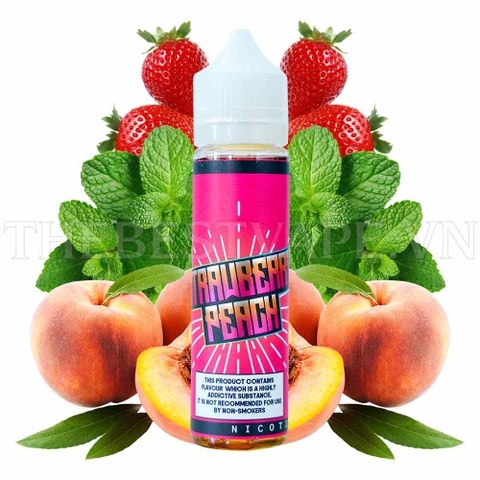 Tinh dầu vape malaysia Strawberry Peach 60ml