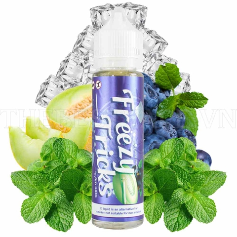 Tinh dầu vape malaysia Honeydew Blackcurrent Freezy Tricks 60ml