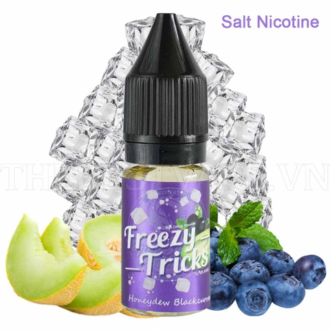 Tinh dầu vape malaysia salt nicotine Honeydew Blackcurrent Freezy Tricks 10ml