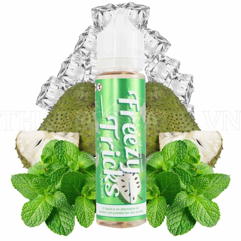 Tinh dầu vape malaysia Soursop Freezy tricks 60ml