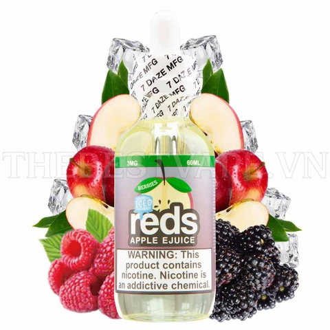 BERRIES RED APPLE 60ml