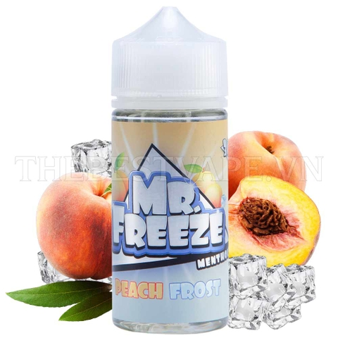 Peach Frost 100ml - Mr Freeze Eliquids
