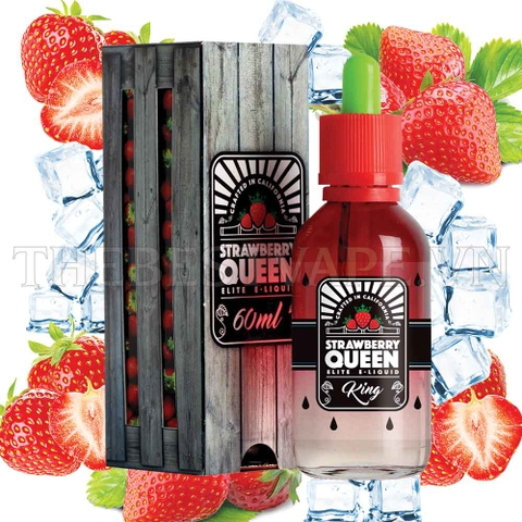 Tinh dầu vape mỹ Queen Strawberry Ice 60ml