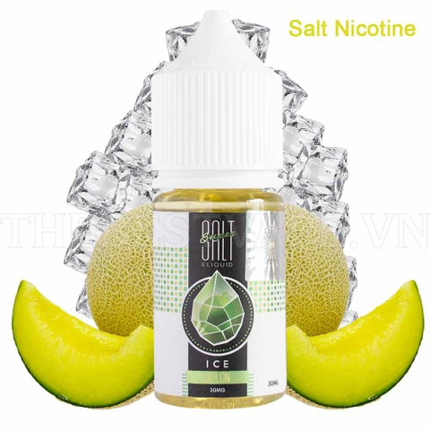 Tinh dầu vape Salt Nicotine Melon ice 30ml - Super Salt