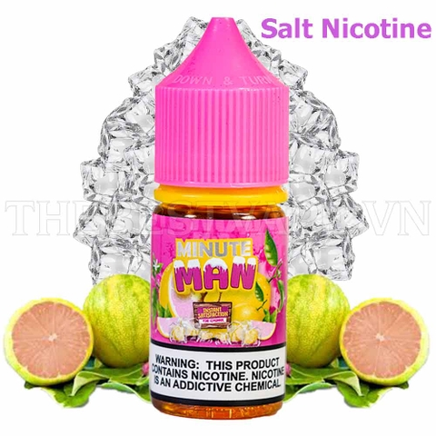 Tinh dầu vape mỹ Salt Nicotine Pink Lemonade Ice 30ml - Minute Man