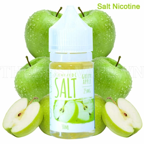 Tinh dầu vape mỹ salt nicotine Green Apple Skwezed 30ml