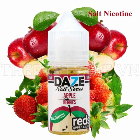 RedsApple - BERRIES ICE ( Táo Dâu Lạnh ) - Salt Nicotine