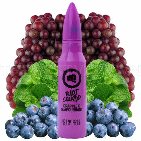 Tinh dầu vape UK Grapple & SlapCurrant 60ml