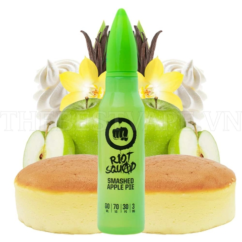 Tinh dầu vape UK Apple Pie 60ml