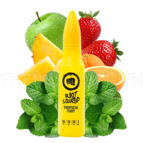 Tinh dầu vapy UK Tropical Fury 60ml