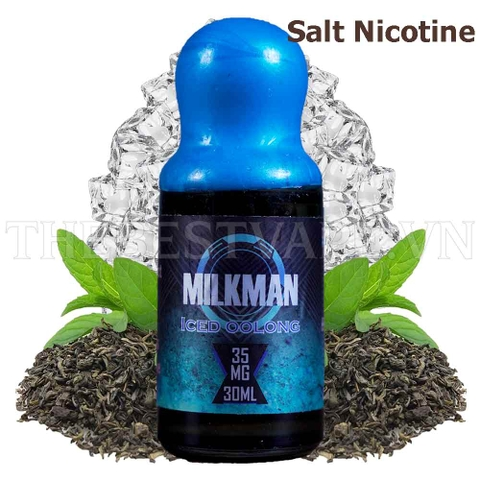 Tinh dầu vape Salt Nicotine Iced oolong Tea 30ml - Milkman