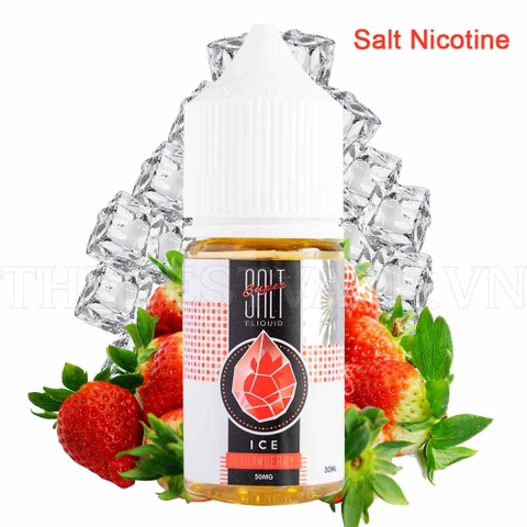 Tinh dầu vape salt nicotine Strawberry Sua Ice 30ml - Super Salt