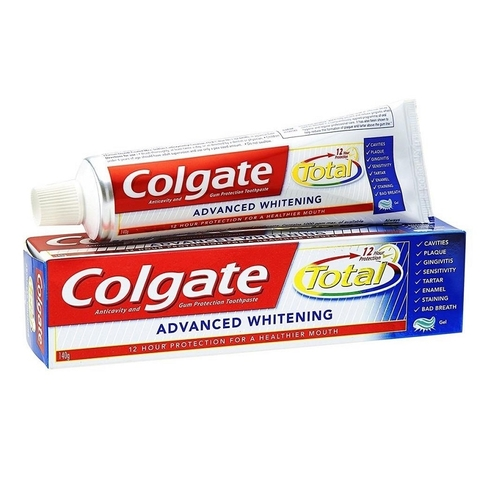 Kem đánh răng Colgate Total Advanced Whitening