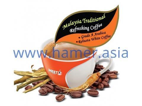 Cà phê Sâm hòa tan Meet Up 5in1 White Coffee - 30g x 20g