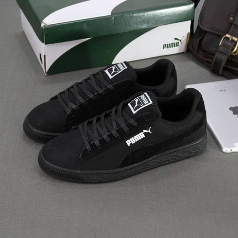 Giày nam PUMA Suede Sneakers đen - Fullbox