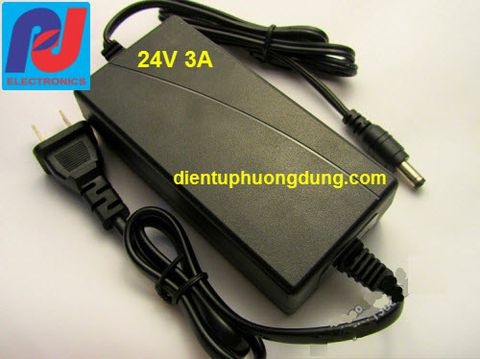Adapter 24VDC 3A