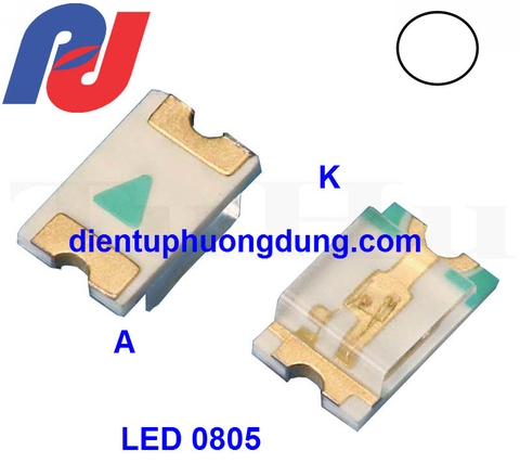 LED SMD 0805 Trắng - White