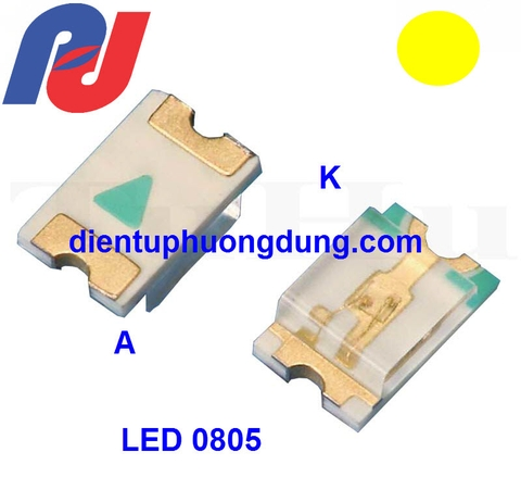 LED SMD 0805 Vàng - Yellow