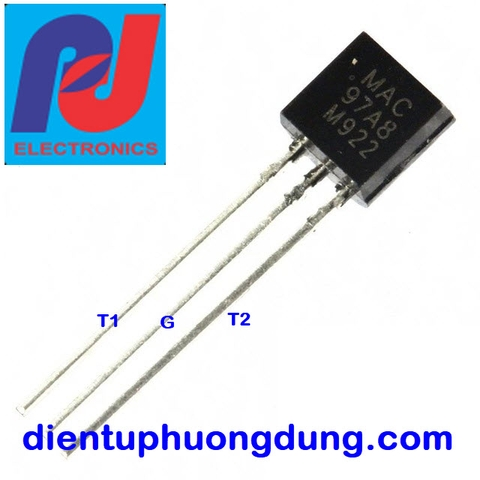 Triac MAC97A6 0.8A 600V