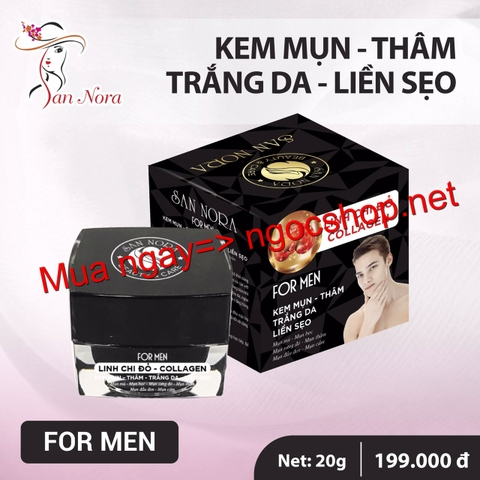Kem Mụn For men sannora