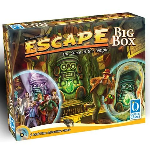 [Game cũ] ESCAPE: THE CURSE OF THE TEMPLE - BIG BOX