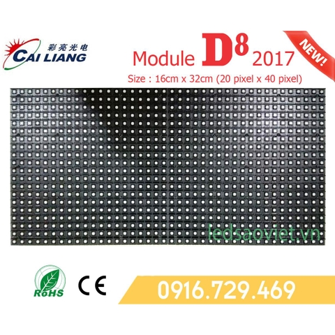 Module D8 ( P8 Size Lớn ) Full color Ngoài Trời