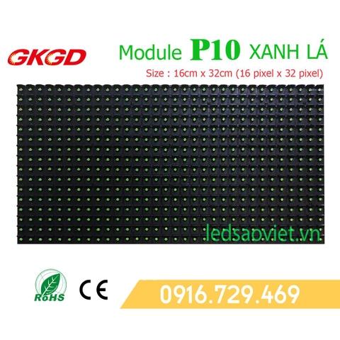 Module p10 chính hãng cho màn hình led ngoài trời