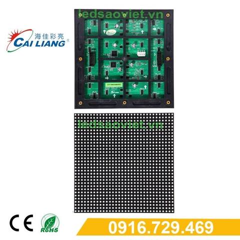 Màn hình led P6 được ghép từ Module P6 full color outdoor Cailiang