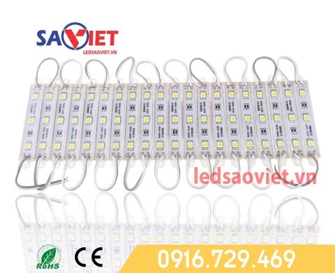 Sử dụng led module 3 bóng ngoài trời