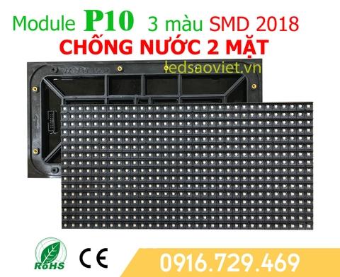 Module p10 chống nước 2 mặt