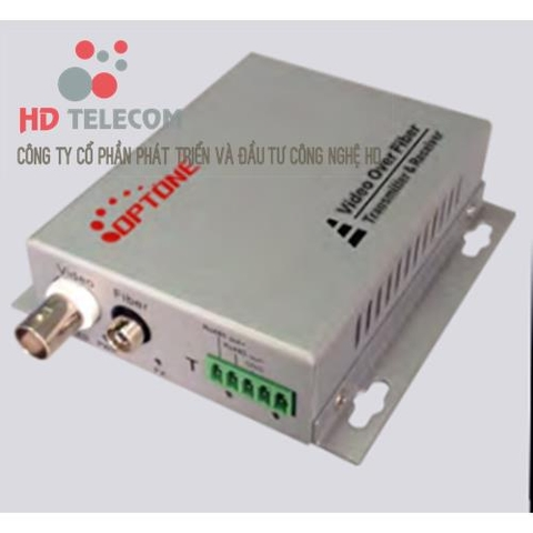 1Ch Video Convertor Fiber