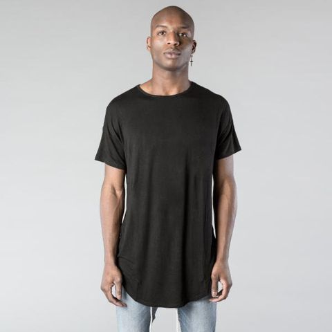 Kollar | Essential Scoop Tee / Black