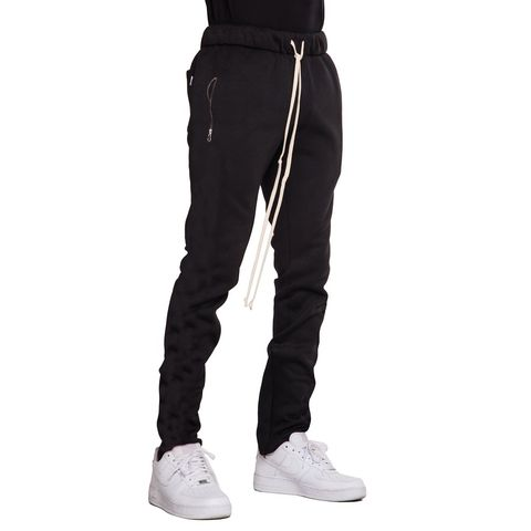 EPTM | Fleece Zipper Pants / Black
