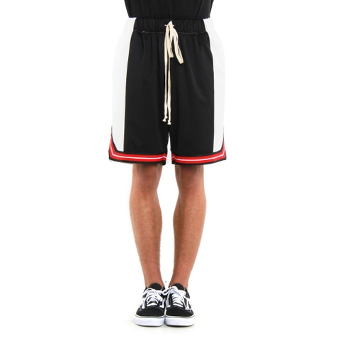EPTM | Basketball Shorts Color Block / Black White Red