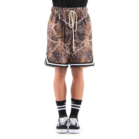 EPTM| Camo Basketball Shorts / Hunter Camo