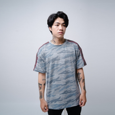 EPTM | Taped Camo Tee / Blue