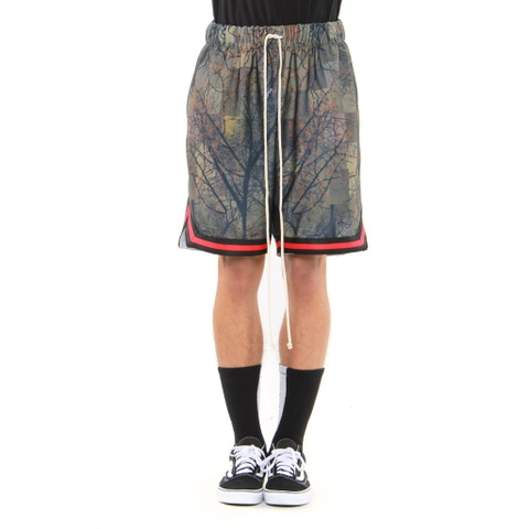 EPTM| Graphic Basketball Shorts / Tree Camo