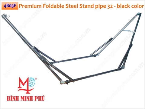 [4803F] KHUNG VÕNG SẮT ỐNG TRÒN PHI 32 TAY DẬP THẲNG - Minh Phu Portable Folding Steel Stand Round tube 32mm pipe with stamping arm