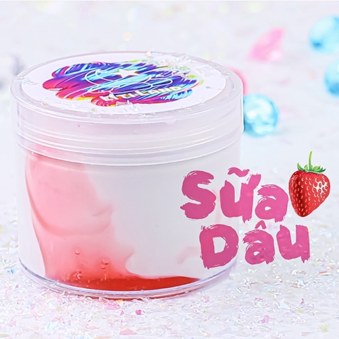 Sữa Dâu - Strawberry Milk